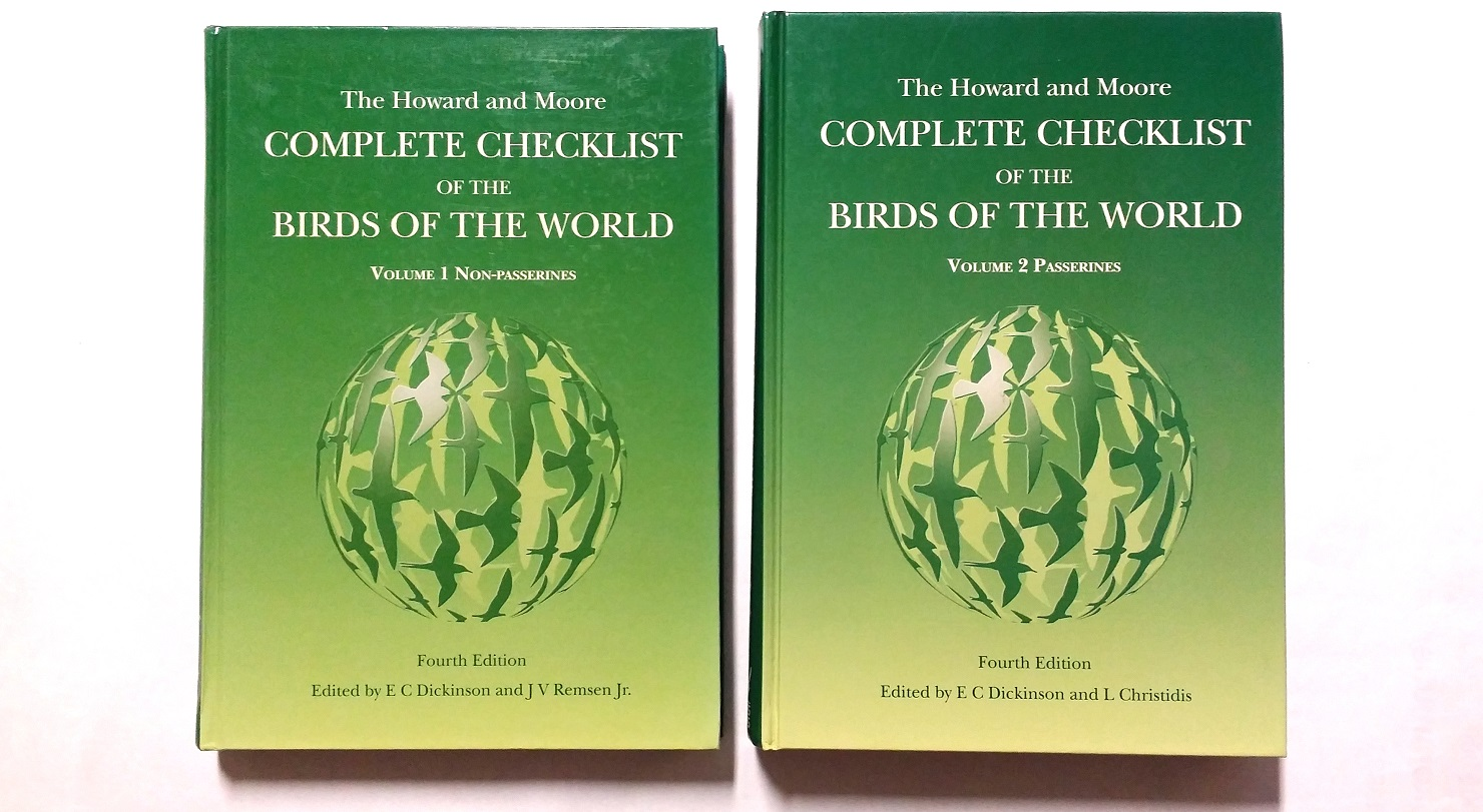 The Howard and Moore Complete Checklist of the Birds of the World (4. painos)