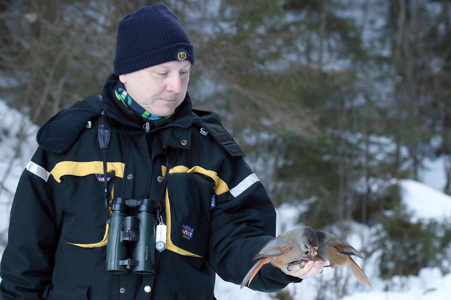 Vuoden retkikummi 2018 Jari Kiljunen. Kuva: Harri Partanen
