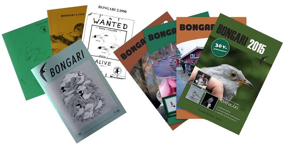 Bongari-lehtien kansia