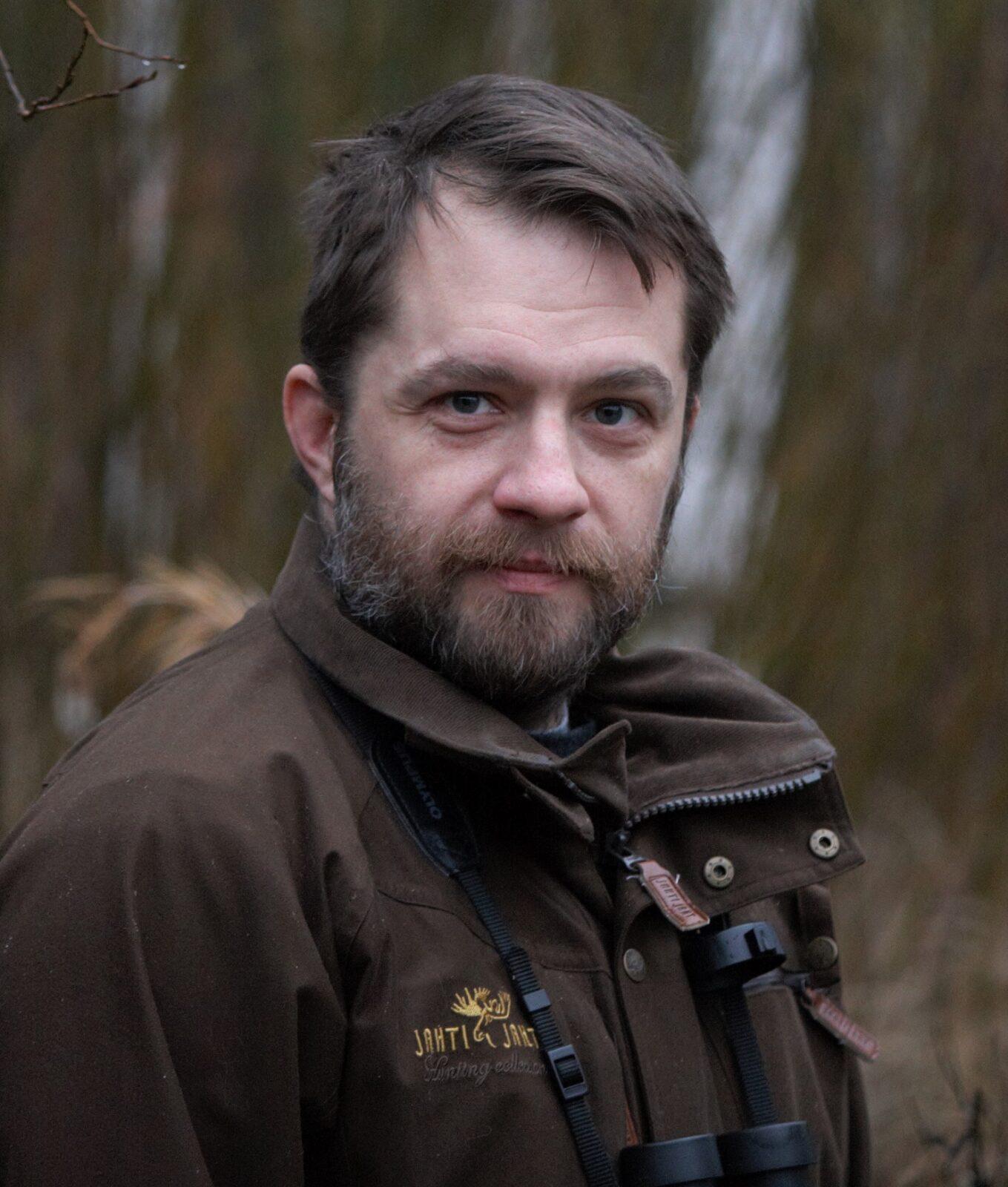 Vuoden 2020 retkikummi Sami Yliostö. Kuva: Kaisu Savolainen