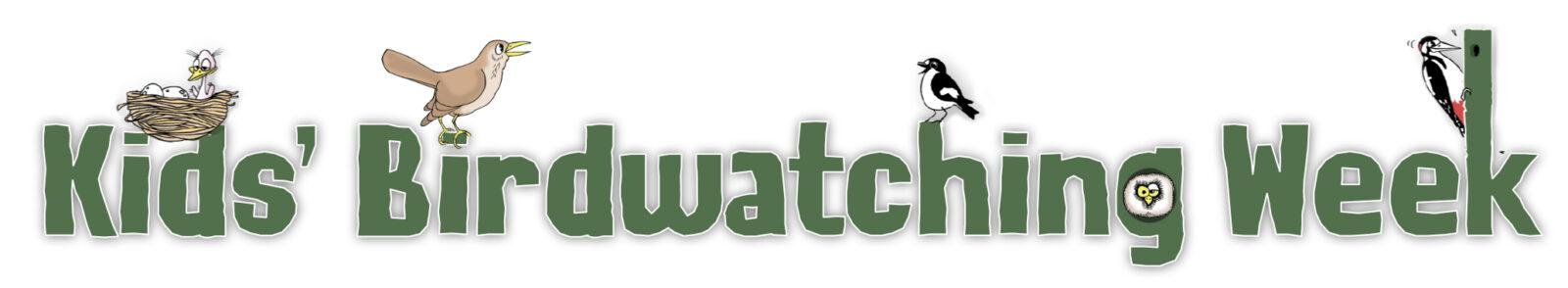 Kids' Birdwatching Week Logo